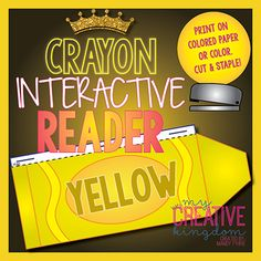 Yellow Crayon Interactive Reader (IR) - My Creative Kingdom