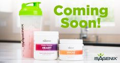 We have created a simple and convenient way for you to complement your Isagenix Shakes while strengthening both your heart and immunity for improved overall health. Why have we done this? We formulated these products because we know how important heart and immune health is to the human body.