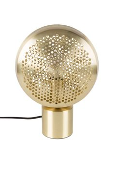 Buy Zuiver Grigio Table Lamp Brass Finish online with Houseology's Price Promise. Multi Light Pendant, Retro Lamp, Brass Table Lamps, Luminaire Design, Grid Design, Wow Products, House Doctor, Pendant Lamp, Furniture Design
