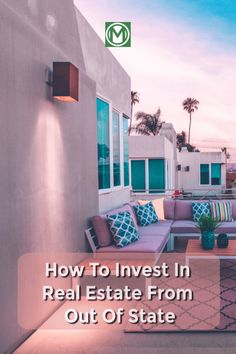 Are you looking to bring in passive income. Check out this step by step guide on how to make money investing in out of state rental property. Because some state are too expensive!
