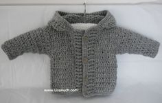 My Favourite FREE #Crochet (hooded) Cardigan Patterns and Crochet Sweater Patterns for Baby