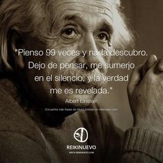 Albert Einstein: La verdad me es revelada http://reikinuevo.com/albert-einstein-verdad-revelada/                                                                                                                                                     Más