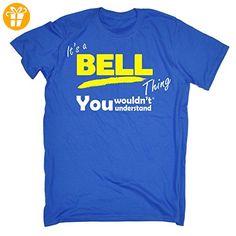 Its A Surname Thing  Jungen T-Shirt, Slogan Gr. Large, Blau - Hellblau - Shirts mit spruch (*Partner-Link)