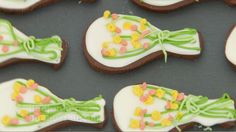 This chocolate and orange iced biscuits recipe is featured in Season 4, Episode 2.