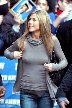 Image result for jennifer aniston nipplegate