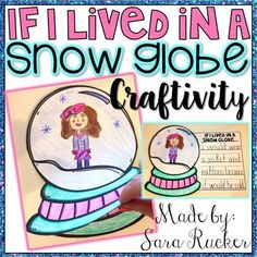 This adorable Winter craftivity is perfect for holiday displays and bulletin boards! :) I have included 2 different versions of the craft, choose the one that works best for your students