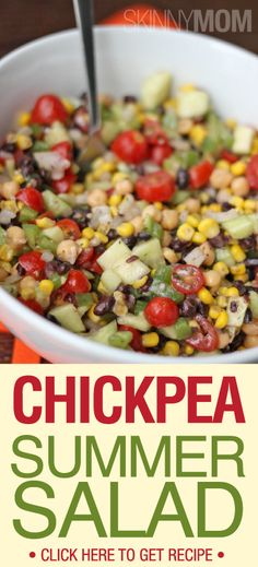 Get The Skinny On This Delicious Chickpea Summer Salad!!!!