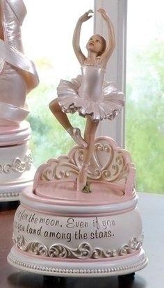 Ballerina Music Box by Roman Inc. NEW in Box SKU 47438