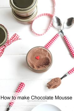 How to make chocolate mousse from @createdbydiane