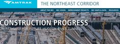 """Amtrak has unveiled a new website dedicated to providing news and information about the Northeast Corridor.  NEC.amtrak.com will include information about improvement projects underway and the railroad's vision for the corridor's future, Amtrak officials said in the """"Amtrak Ink"""" newsletter."""