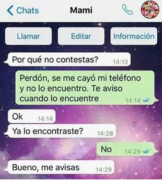 Read No lo encuentro from the story Capturas Fake by CryBxbySivanElii (❀e. Mexican Funny Memes, Funny Spanish Memes, Spanish Humor, Funny Jokes, Text Jokes, Love Phrases, L Love You, Quality Memes, Best Memes