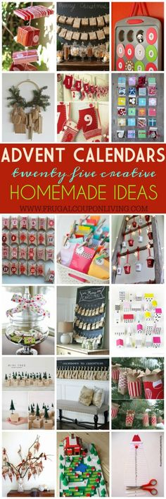 homemade-advent-calendars-collage-long-frugal-coupon-living