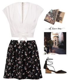 2869. by a-colette on Polyvore featuring polyvore fashion style TOM TAILOR Jimmy Choo WALL clothing