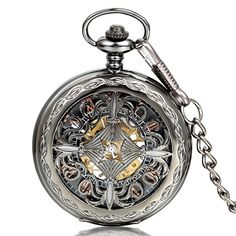 JewelryWe Reloj de Bolsillo Negro, Retro Vintage Reloj Me... https://www.amazon.es/dp/B01I1B55WW/ref=cm_sw_r_pi_dp_ESBFxb6CCAGNA
