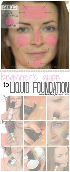 liquid foundation guide