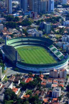 Estadio Couto Pereira. Curitiba FC, Parana. Abierto en 1932, 38.000 pers. Brasil