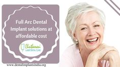 Dental Implants are used to replace missing teeth. Chinthamani Laser Dental Clinic provides the best Full Arc Dental Implant Treatment in Chennai at an affordable price. for More : http://dentalimplantsindia.org/