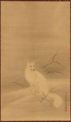 White Fox: Japanese, Edo period–Meiji era, 1779. Formerly attributed to Maruyama Ôkyo, Japanese, 1733–1795.