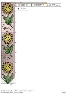 Segnalibro Girasole