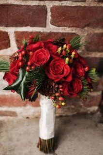 Wedding Flowers - Christmas