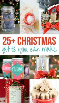 25 christmas gifts you can make
