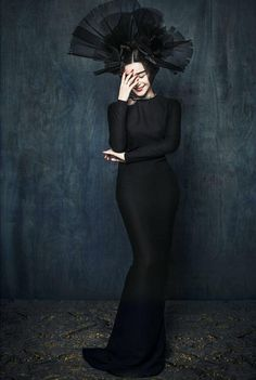 """Ancient and modern fusion domineering and glamorous, Fan Bingbing for Chinese version of """"Marie Claire"""" interpretation of the modern version of Wu Zetian 11"""
