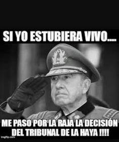 El General Pinochet tenia pantalones