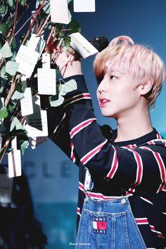171206 Wanna One at Clean fansign #Jihoon