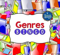 Genres Bingo provides fun practice in identifying 15 genres. Each genre is identified twice, once by using a definition or a quality of the genre, and another time by using a title as an example of the genre. Students create their own bingo cards. $