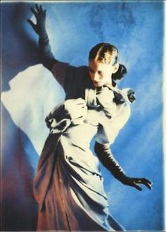 -- SS 1988 ---1988 - John Galliano dress by Javier Vallhonrat