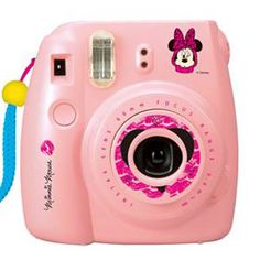 Fujifilm Instax Mini 8 Instant Film Camera Special Edition (Minnie Mouse) *** Find out more about the great product at the image link. Mini 8 Camera, Instax Mini Camera, Cute Camera, Camera Art, Fujifilm Polaroid, Fujifilm Instax Mini 8, Polaroid Cameras, Fuji Mini 8, Instant Film Camera