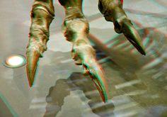 https://flic.kr/p/MEfFMJ   claw T.Rex NATURALIS Leiden 3D   tyrannosaurus rex  anaglyph stereo red/cyan