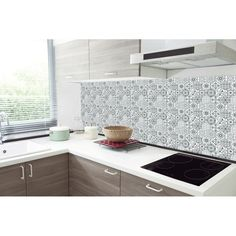 Peel N Stick Backsplash, Peel And Stick Tile, Stick On Tiles, Kitchen Colour Combination, Self Adhesive Wall Tiles, Textured Wallpaper, Texture Design, Kitchen Backsplash, Kitchen And Bath