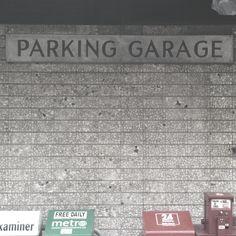 Parking garage Fonts, Garage, Colors, Designer Fonts, Carport Garage, Types Of Font Styles, Garages, Letters, Colour