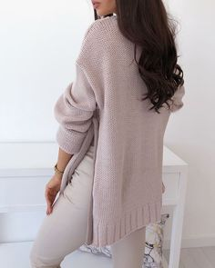 Shop IVRose - Women's Shop IVRose - Women's Online Shopping Offering Huge Discounts on Dresses, Lingerie , Jumpsuits , Swimwear, Tops and More. Trend Fashion, Knit Fashion, Warm Outfits, Cool Sweaters, Womens Fashion Online, Long Sleeve Sweater, Sleeve Styles, New Dress, Knitwear