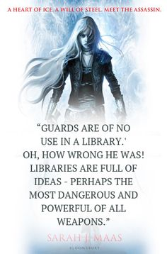 Throne of Glass by Sarah J. Maas - Young Adult Fantasy, Book Quote