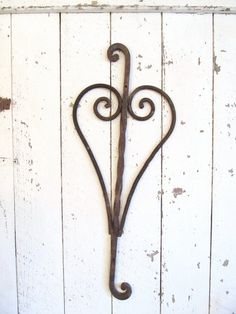 Antique Iron Fence Salvage Piece