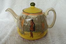 "Vintage Royal Doulton Series Ware 6-Cup Teapot 1930's : ""Rosalind"" : Estate Find"