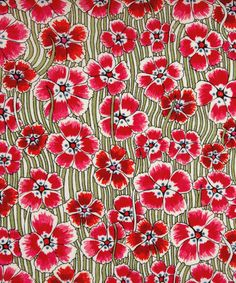 New season Liberty print fabric...