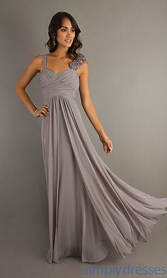 Long Formal Dress for Prom at SimplyDresses.com