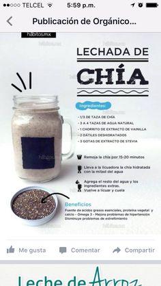 Como Hacer lechada de Chia