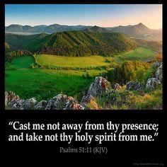 Psalm 51:11