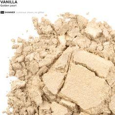 Eyeshadow in color Vanilla