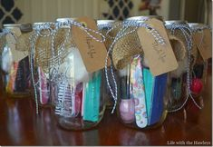 14 Best Mason Jar Baby Shower Gifts Images Xmas Gifts Baby Shower