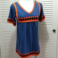 """Anthologies Flying  Tomato  Sweater Top Minimal  wear,super  cute. Pleating  down  front.  ARMPIT-ARMPIT 16.5 """" Length 27 """" Flying  Tomato  Anthropologie  Tops"""