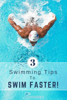"""Click on """"Visit"""" to learn how to shave off seconds or even minutes from your race times with these three tips to swim faster."""