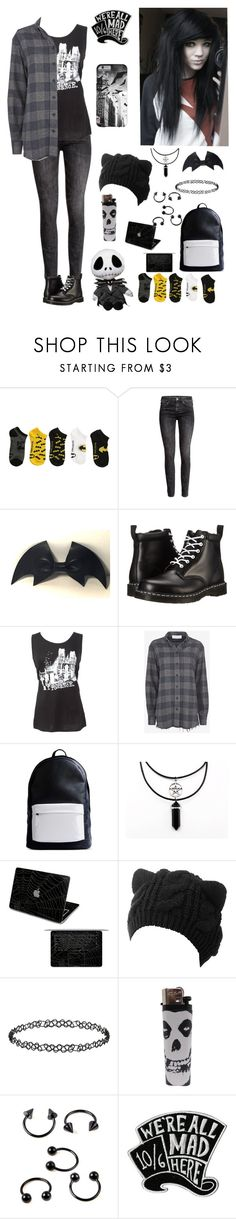 """Untitled #70"" by bringmetheveil ❤ liked on Polyvore featuring H&M, cutekawaii, Dr. Martens, IRO, PB 0110, Dorothy Perkins and Disney"