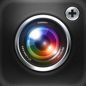 shiny pictures, easy sharing, editing and lots of features u can never even think of: http://itunes.apple.com/us/app/camera+/id329670577?mt=8