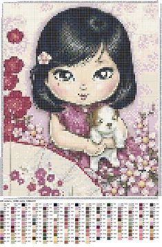 Quilting for Beginners – 5 Part Series - Abundator Cross Stitch For Kids, Just Cross Stitch, Cross Stitch Baby, Cross Stitch Charts, Cross Stitch Designs, Cross Stitch Patterns, Cross Stitching, Cross Stitch Embroidery, Embroidery Patterns