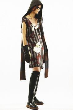 Look 21 Marni Pre-Fall 2013 #print #floral#stripe